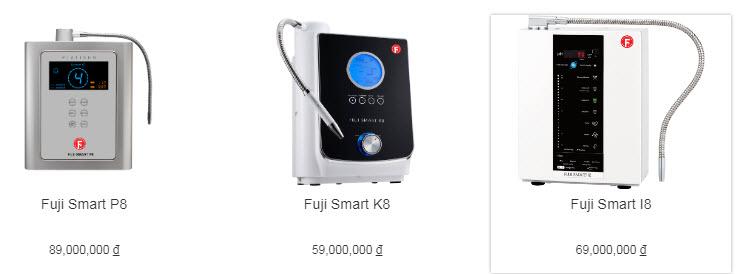 Đại lý máy điện giải ion kiềm Fuji Smart P8 tại TP Vinh, Nghệ An