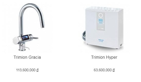 Đại lý máy lọc nước ion kiềm Trimion Hyper tại TP Vinh, Nghệ An chính hãng