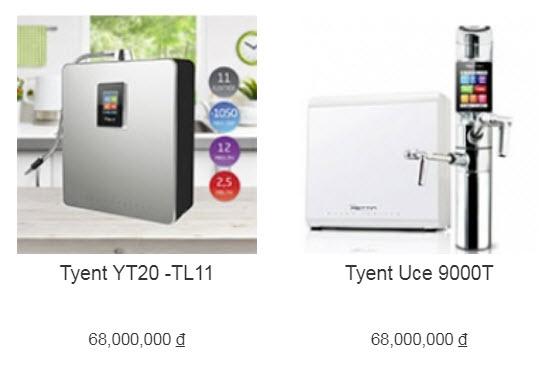 Đại lý máy lọc nước ion kiềm Tyent tại TP Vinh, Nghệ An chính hãng