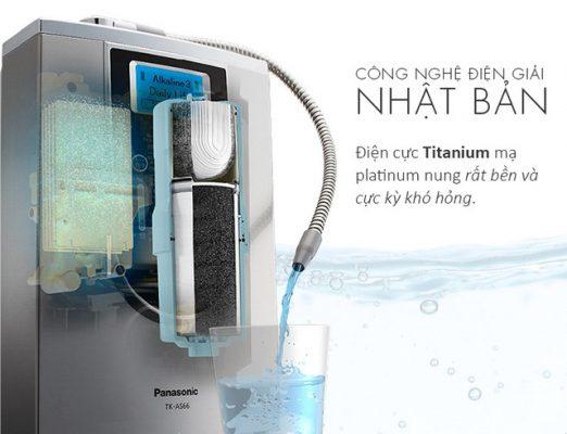 Máy tạo nước điện giải Panasonic: thương hiệu uy tín hàng đầu thế giới